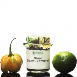 Sauce de piment au citron vert